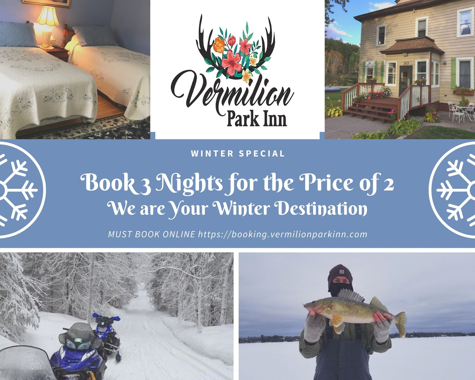 Vermilion Park Inn Winter special